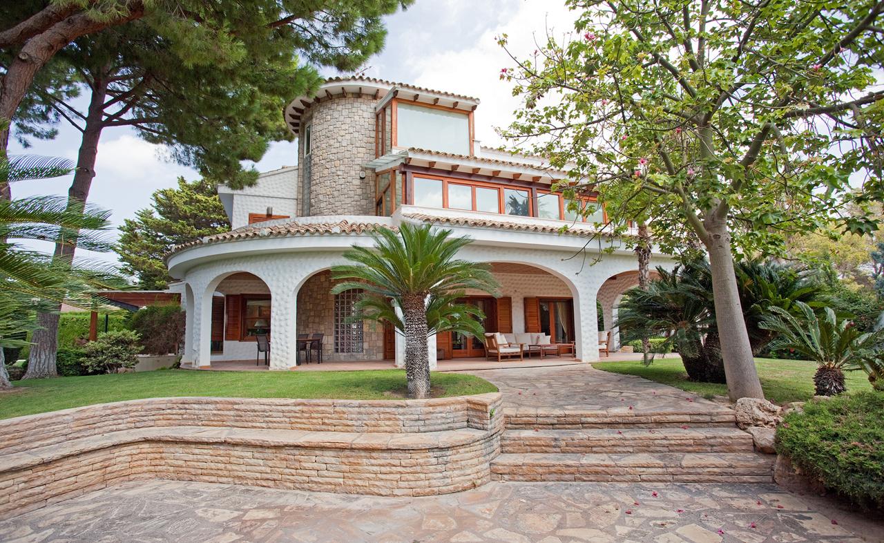 Chalet de Lujo - Estilo Mediterraneo - MuvHaus Fotografía Inmobiliaria - Valencia